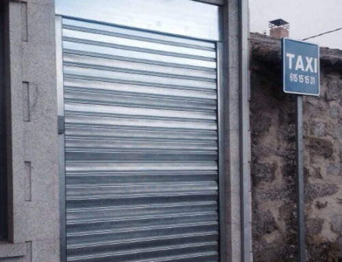 Puertas enrollables para espacios pequeños